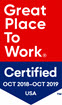 Great Place to Work Certified 2018